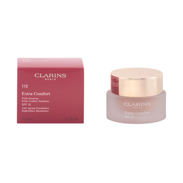 Clarins - EXTRA-COMFORT SPF15 112-amber 30 ml