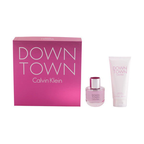 Calvin Klein - DOWNTOWN LOTE 2 pz EDP VAPO 90 ML