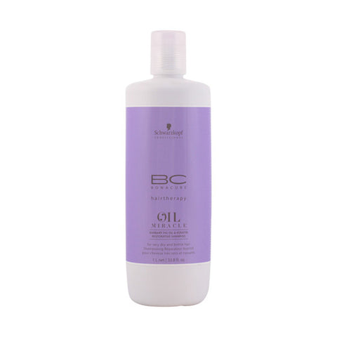 Schwarzkopf - BC OIL MIRACLE barbary fig oil restorative shampoo 1000 ml