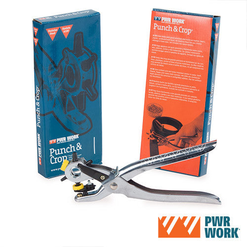 PWR Work Belt Hole Punch