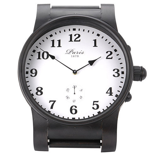 Vintage Coconut Paris Tabletop Wrist Watch Clock