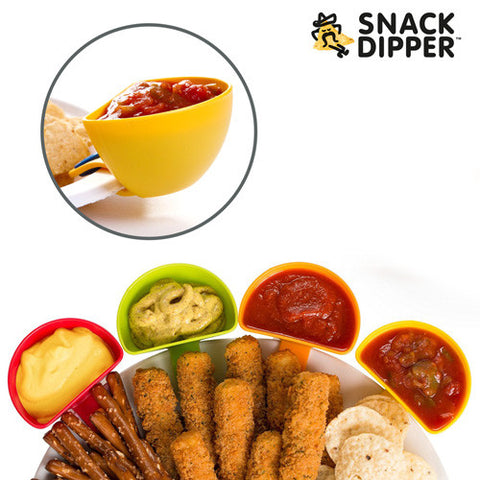 Snack Dipper Dipping Bowls (pack of 4)
