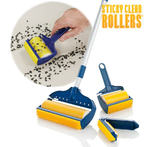 Sticky Clean Rollers Lint Rollers (3 Pieces)