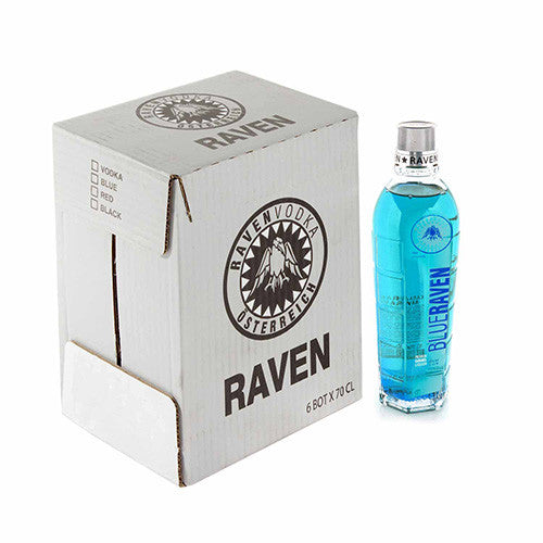 Blue Raven Blå Vodka