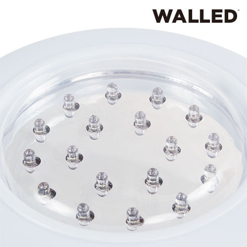 WalLED LED Recessed Lighting with Remote