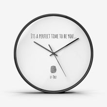 Load image into Gallery viewer, u- Tru Wall Clock Silent Non Ticking Quality Quartz - U-Tru