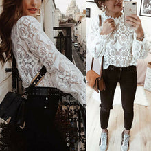 Load image into Gallery viewer, Lace Floral Top