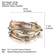 Load image into Gallery viewer, Multi-Layer Golden Bracelet