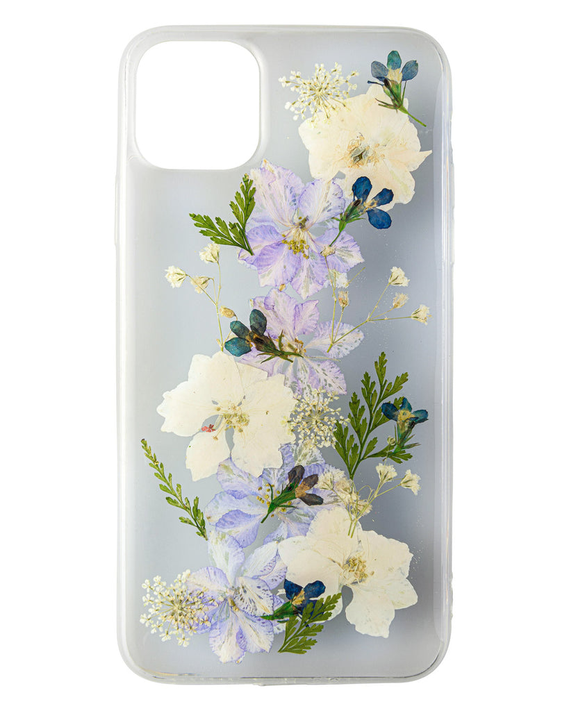 Botanical Love Nalana Cases iPhone 11 Pro Max real pressed flower case tpu gedroogde bloemen telefoonhoesje
