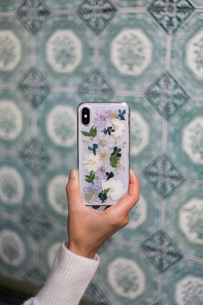 Botanical Love Nalana Cases iPhone Case Samsung Case pressed flowers flower preservation bloempreparatie telefoonhoesje