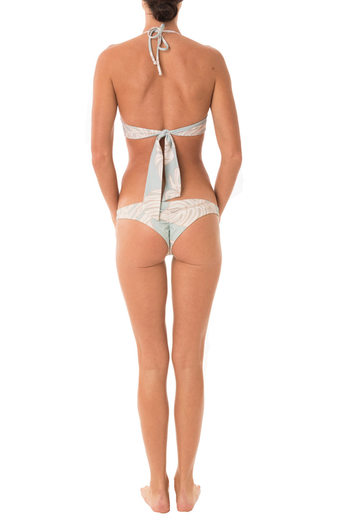 Aqua Leaf Cheeky Brief