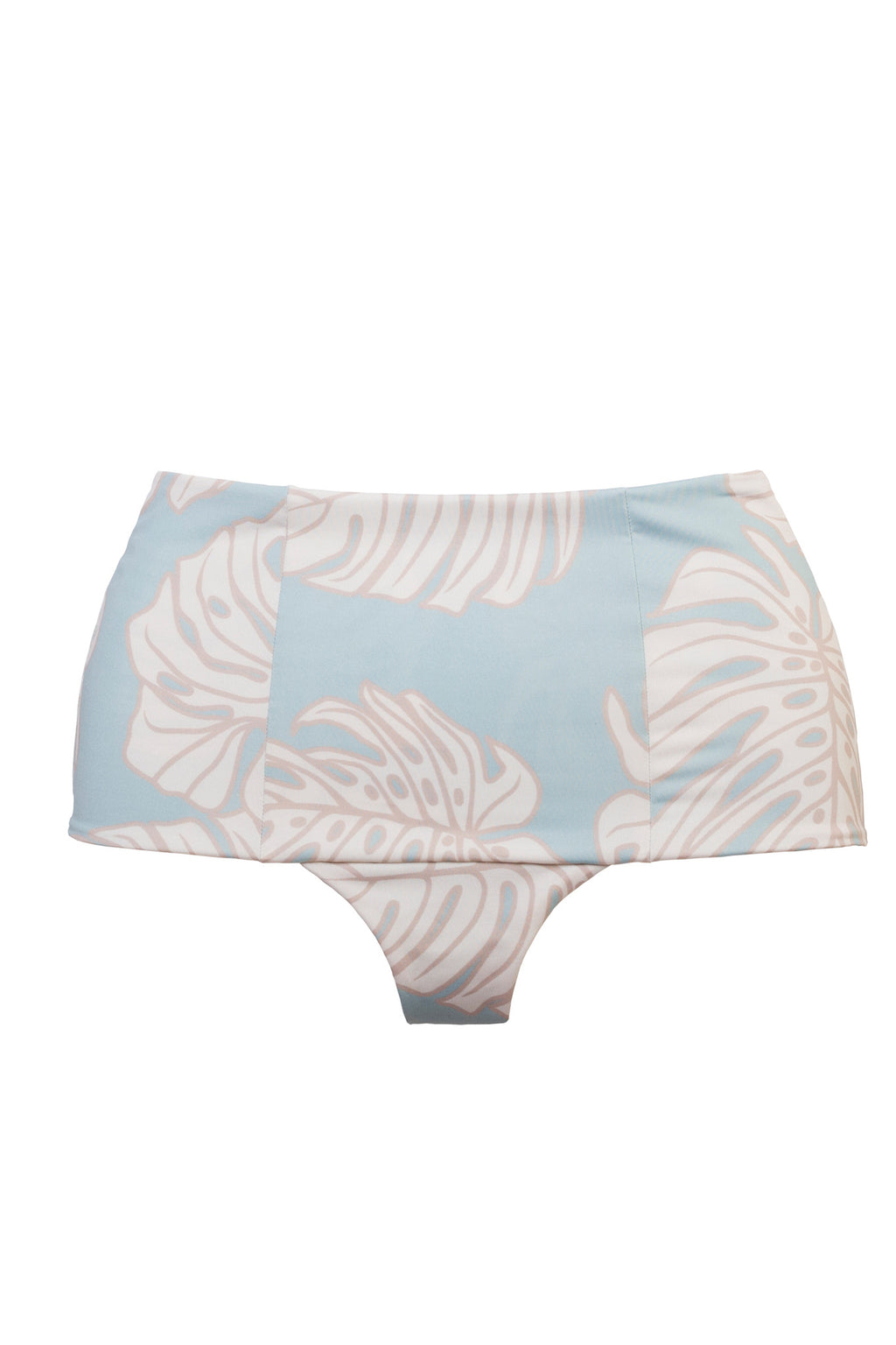 Aqua Leaf Retro Short