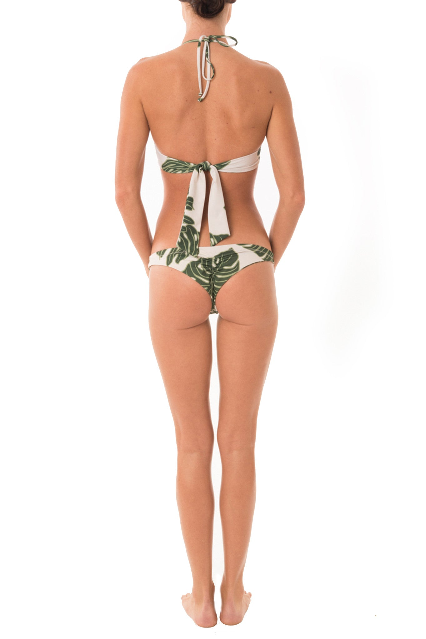 Green Leaf Skimpi Scoop Halter