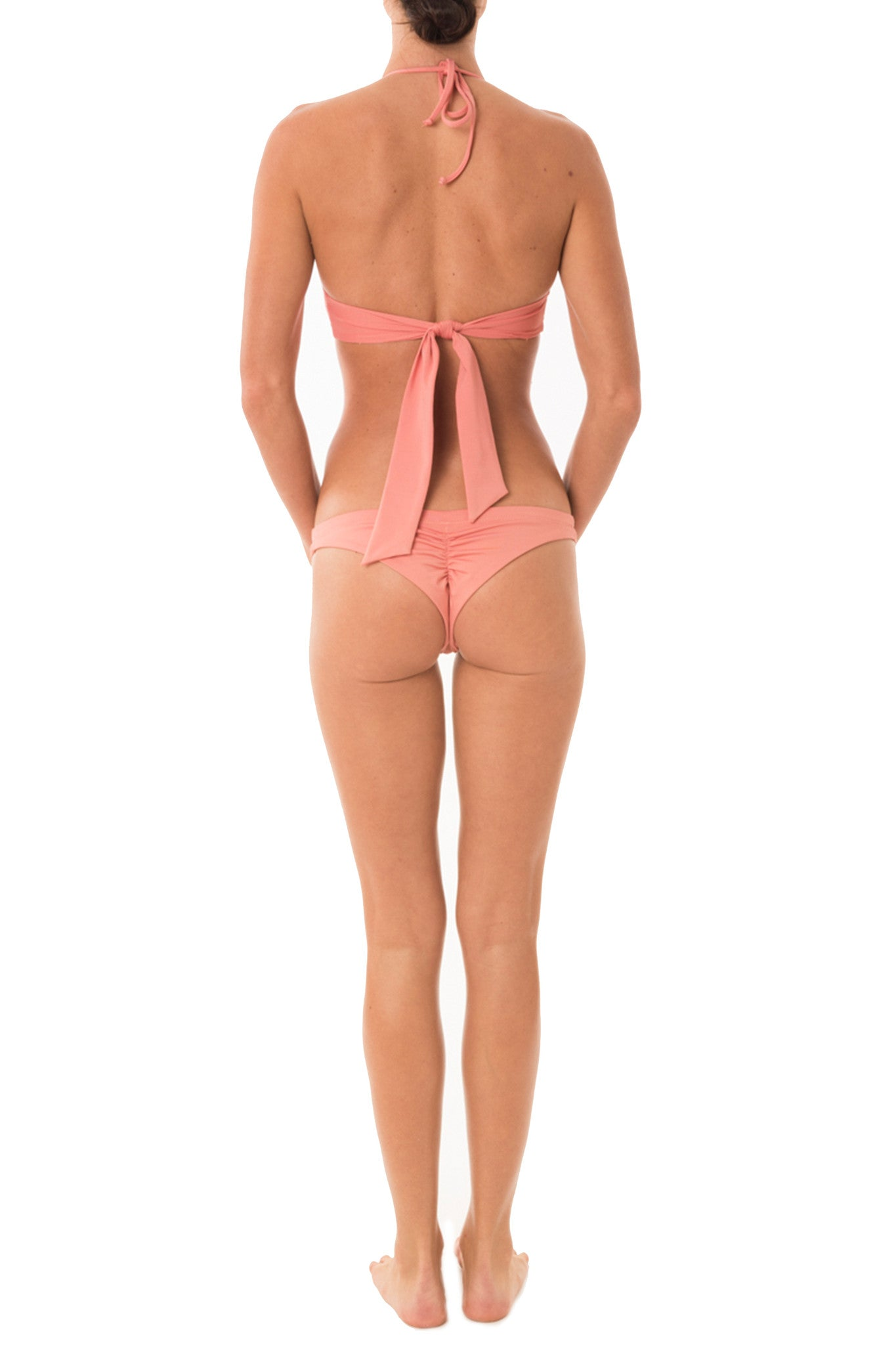 Skimpi Scoop Halter in Flamingo (1 left)