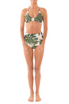 Green Leaf Retro Short