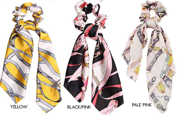 Scarf Print Scrunchi (6 options)