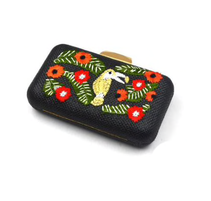 Toucan Clutch (3 colors)