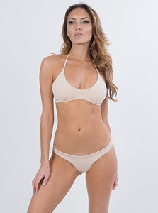 Skimpi Scoop Halter in Sand