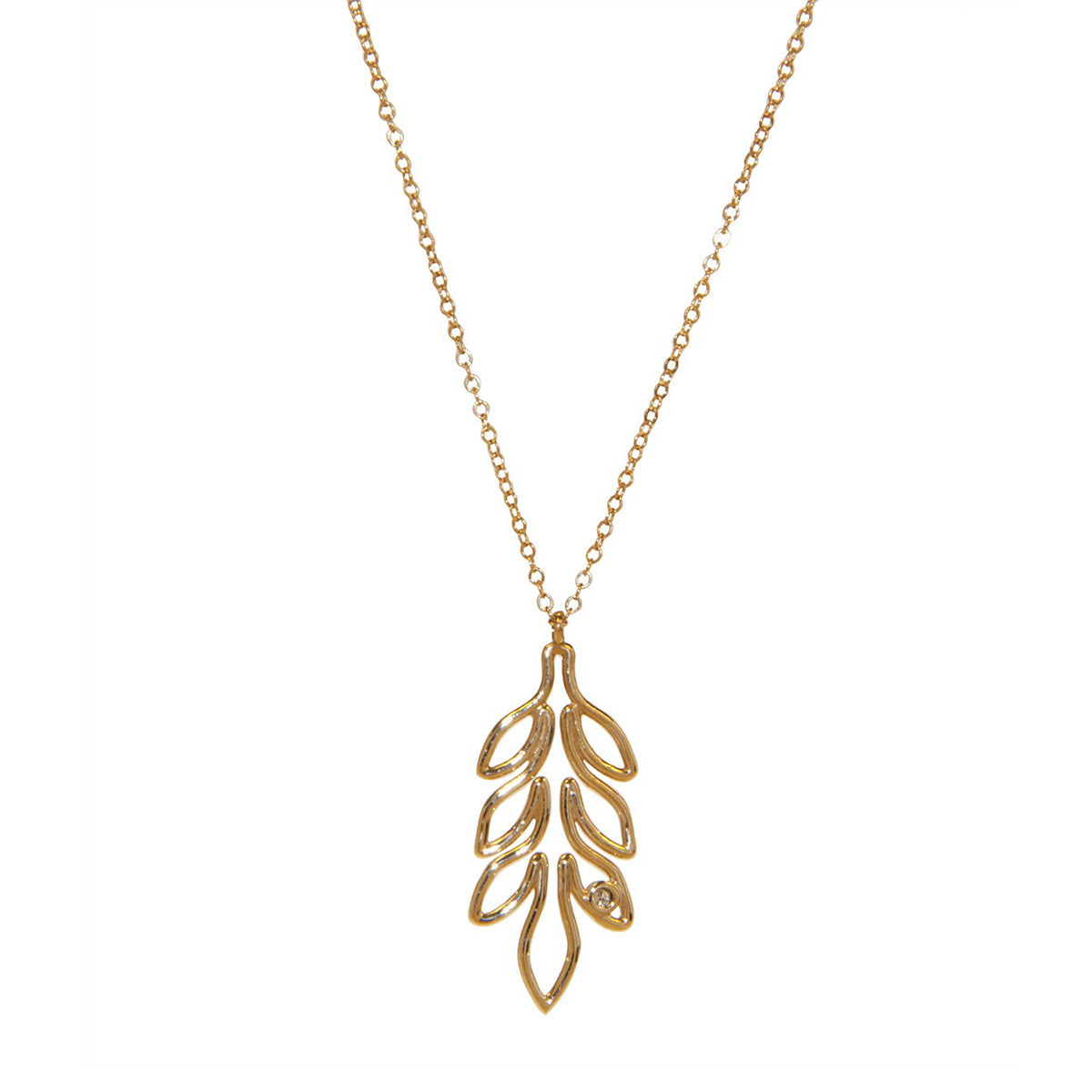 Leaf Necklace (One Available)