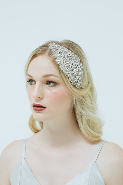 Loverly Crystal Headpiece