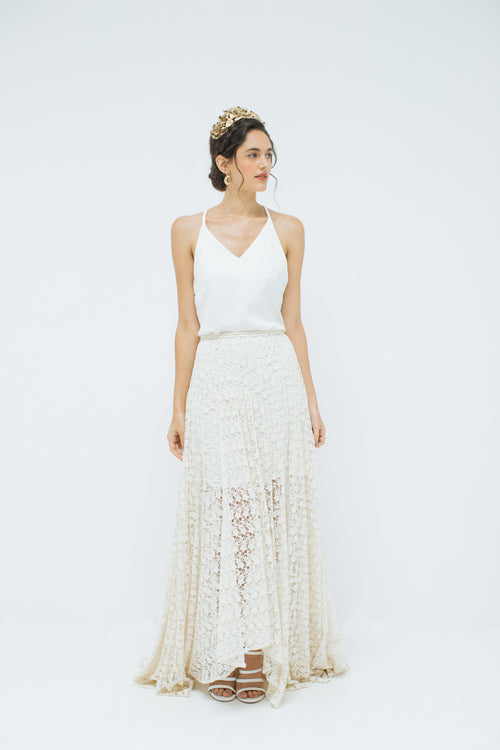 Daisy Chain Lace Skirt