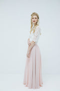 Cherie Skirt in Blush Pink