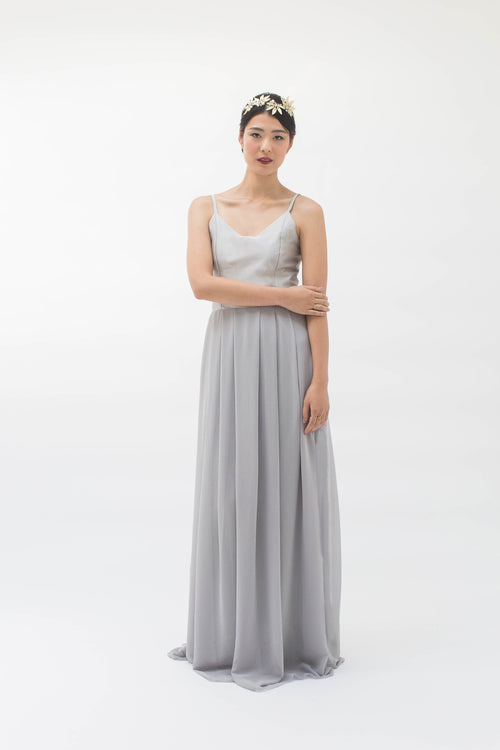 Marnie Dress in Dove Grey