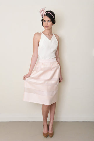 Briar Skirt in Blush