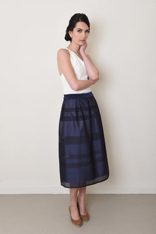 Briar Skirt in Navy