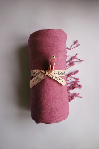 Silk Cashmere Pashmina: Orchid Pink