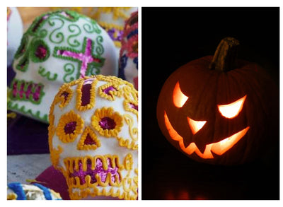 5 ways Day of the Dead & Halloween are Different