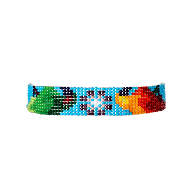 Jungle Joy Bead Bracelet