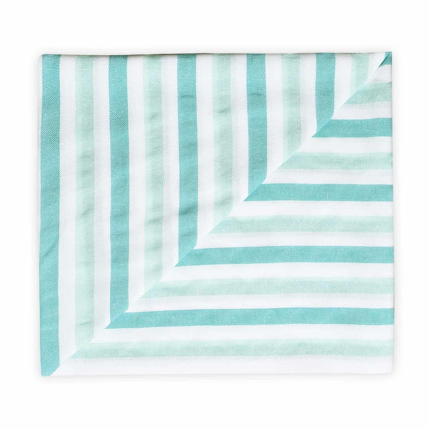 The La Jade beach blanket folded