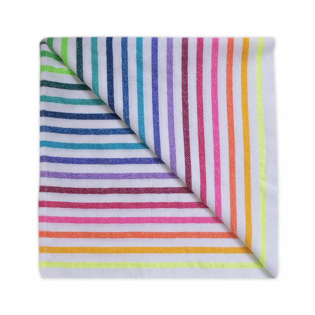 La Lucia beach blanket folded into a square