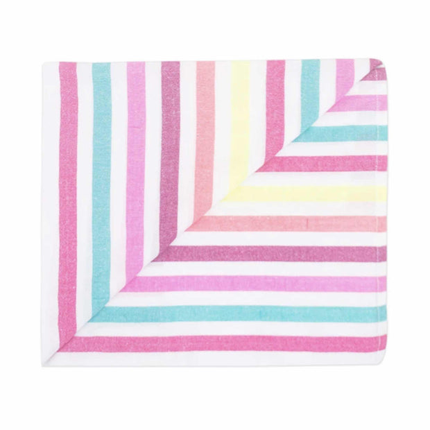 The La Rita beach blanket folded