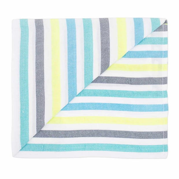 The La Samantha beach blanket folded