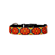 Tropical Bloom Dog Collar