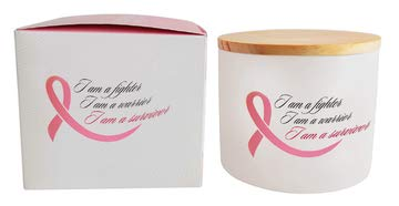 The Cherished Company Breast Cancer Survivor Gift | Candle Holder or Jar