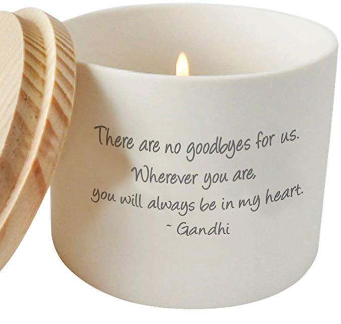 Cherished Memorial and Missing You Candle Holder or Jar