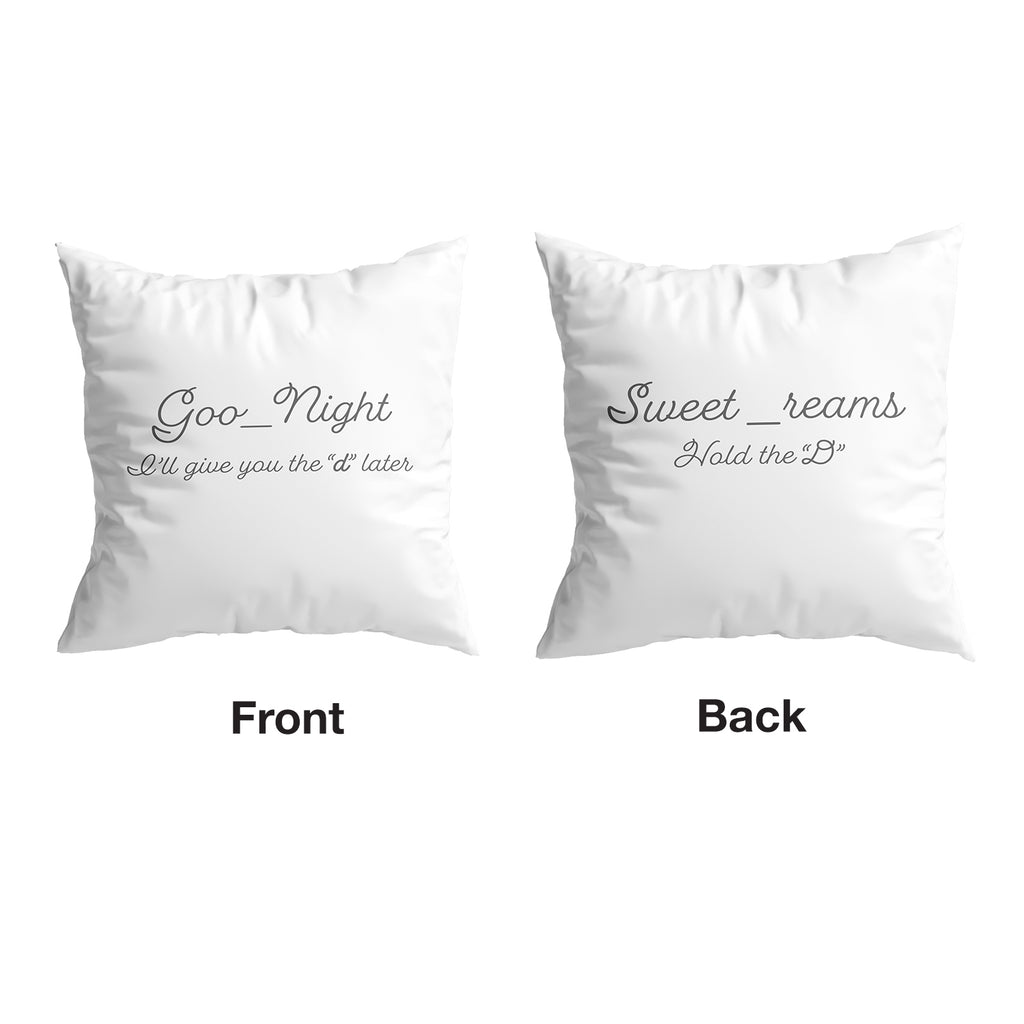 Naughty Pillow Covers