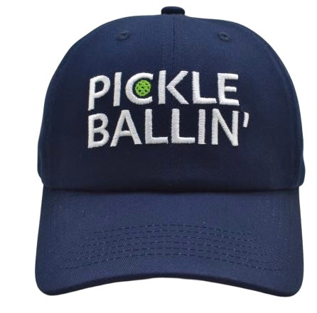 Pickleball Hat | Fun Pickle Ball Accessory or Gift