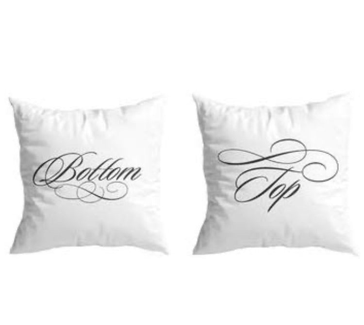 Mr. and Mr. Novelty Pillow Covers