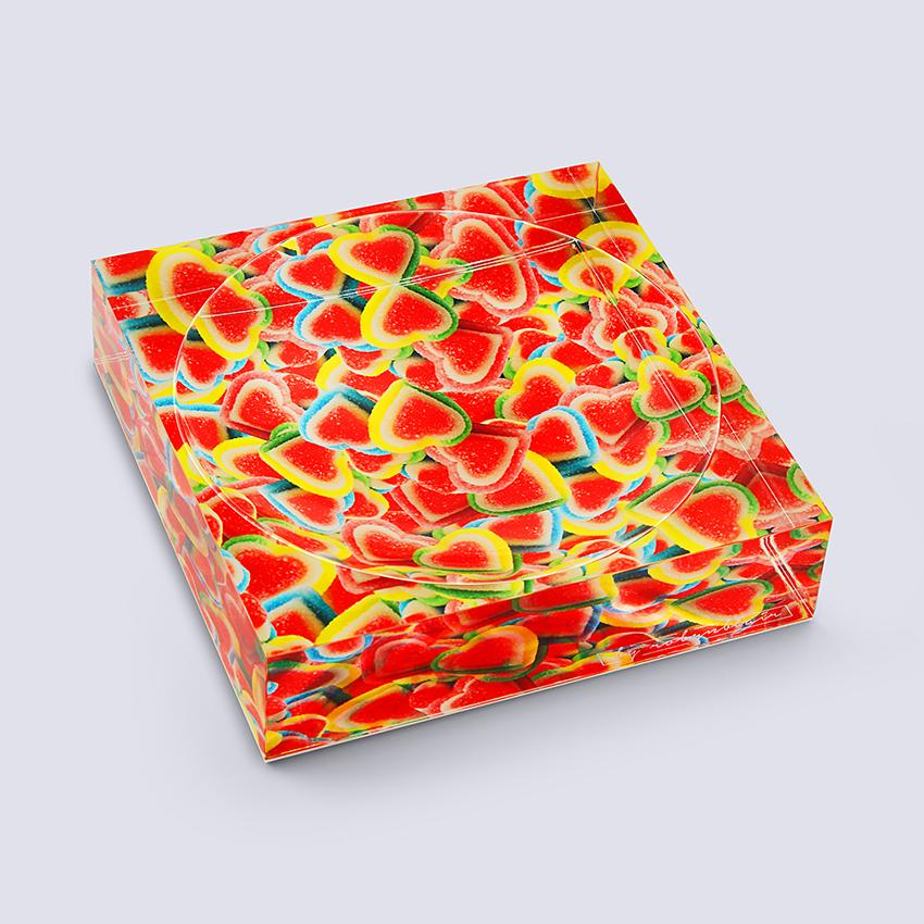 Rainbow love Candy Dish
