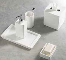 Load image into Gallery viewer, Lacca White Bath Accessories