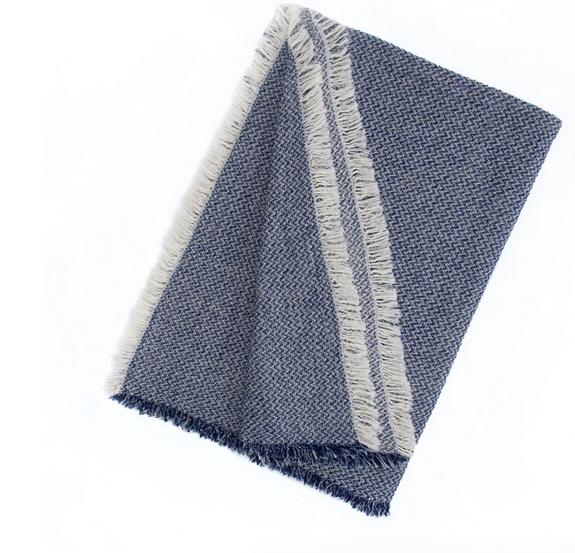 Oxford Cotton-Wool Throw