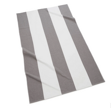 Load image into Gallery viewer, Block Stripe Fouta Beach Towel