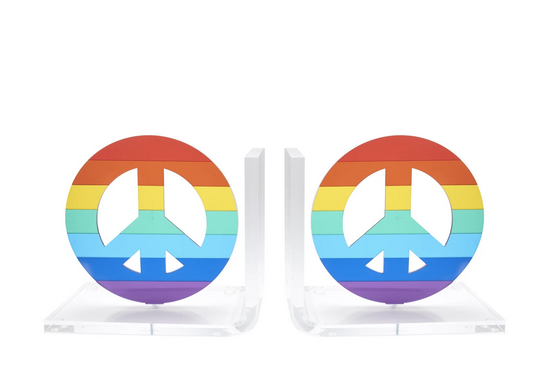 Rainbow Mirror Bookends