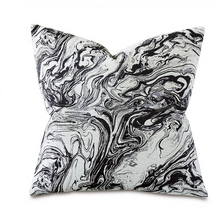Load image into Gallery viewer, HELGA NOIR DECORATIVE PILLOW