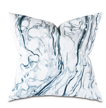 Load image into Gallery viewer, JETT BLUE DECORATIVE PILLOW