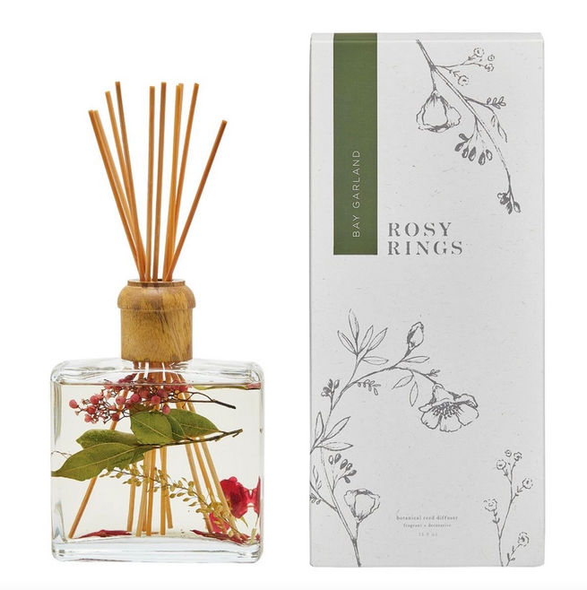 Bay Garland Botanical Reed Diffuser